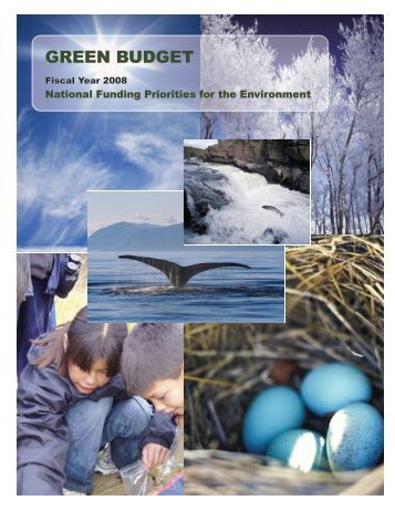 green budget - NRDC Document Bank - Natural Resources Defense ...