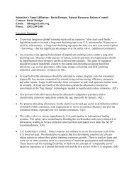 proposal - NRDC Document Bank - Natural Resources Defense ...