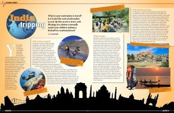 Travel cover story for Pulse magazine - Sonali Shah's website
