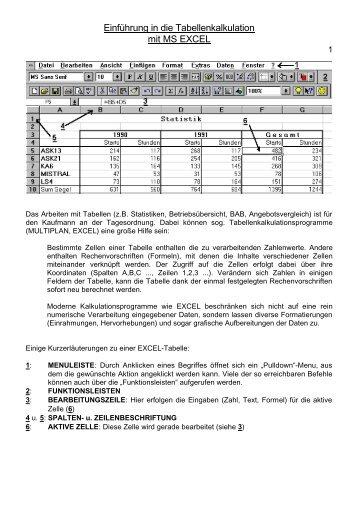 Was Ist Ms Excel 1 Tabellenkalkulation Tabelle Kalkulation