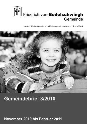 Gemeindebrief 3/2010 - Bodelschwingh-Kirche