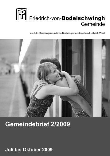 Gemeindebrief 2/2009 - Bodelschwingh-Kirche