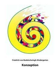 Friedrich von Bodelschwingh-Kindergarten / Konzeption
