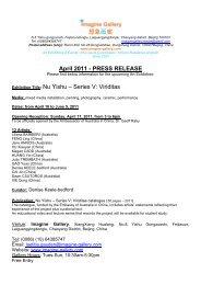 ???? April 2011 - PRESS RELEASE ... - Imagine Australia