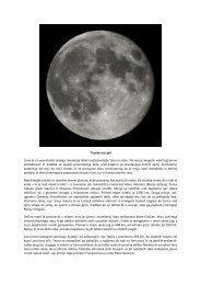 Tvorbe na Luni Luna je za uporabnika malega teleskopa ... - Shrani.si