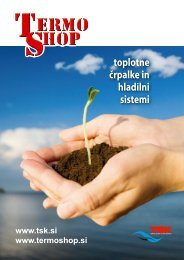 toplotne črpalke in hladilni sistemi - Shrani.si