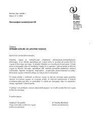 OPREMA UČILNIC ZA LIKOVNO VZGOJO Spoštovani ... - Shrani.si