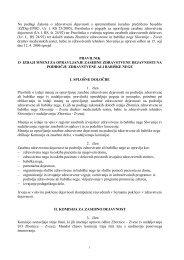 Pravilnik o izdaji mnenj za opravljanje zasebne zdravstvene - Shrani.si