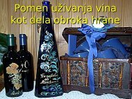 Pomen uživanja vina kot dela obroka hrane - Shrani.si