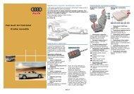 Va‰ Audi A4 Cabriolet Kratka navodila - Shrani.si