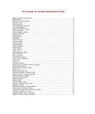 50 receptů, ke kterým potřebujete houby - Webnode