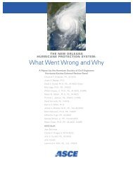 What Went Wrong and Why - American Society of Civil Engineers