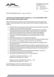 PERFORMANCE smarttin - APL - smarttin
