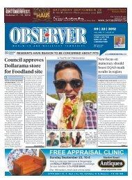 12 September 22, 2012 - ObserverXtra