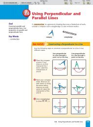 3.6 Using Perpendicular and Parallel Lines