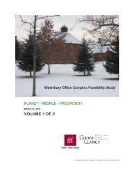 Volume 1 - Executive Summary and Design Options