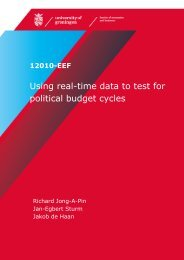 Using real-time data to test for political budget cycles