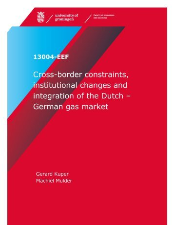German gas market - SOM Research Reports