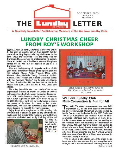 0dee9fb2149e Lundby 12/05 - We Love Lundby Club