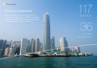 Read more about Focus on Customers in PDF - Cathay Pacific