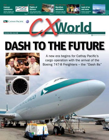 A new era begins for Cathay Pacific's cargo operation with the ...