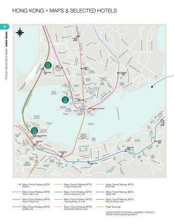 HONG KONG • MAPS & SELECTED HOTELS - Cathay Pacific
