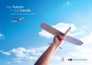 our future our hands - Cathay Pacific