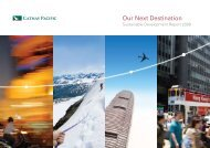 Sustainable Development Report 2009 - Cathay Pacific