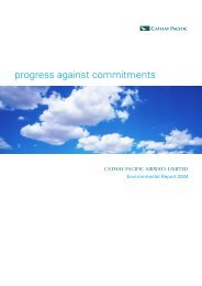 CPA_Env Report_E03_05.30 - Cathay Pacific