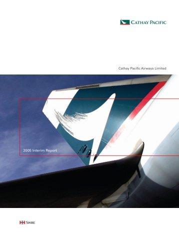 Interim Report - Cathay Pacific