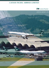 Annual Report 1998 - Cathay Pacific