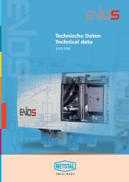 Technische Daten Technical data - Netstal
