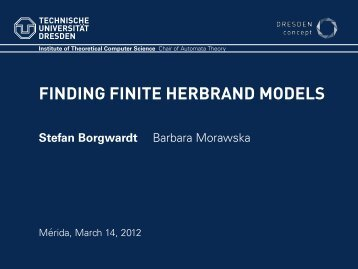 Finding Finite Herbrand Models