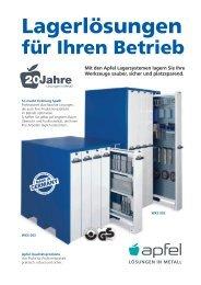 Werkzeugschrank-Sets – optimal für Ihre Lagerzwecke - Apfel GmbH