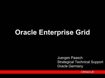 Oracle Enterprise Grid