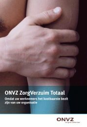 ONVZ ZorgVerzuim Totaal 2009