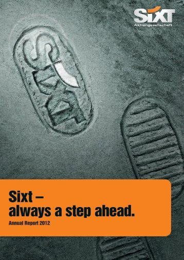 Annual Report 2012 - Sixt AG