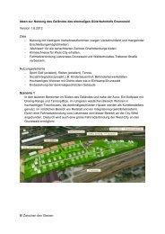 Alternativen - Bürgerinitiative Zwischen-den-Gleisen