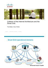 Collision of the Internet Architecture and the Smart Grid Smart ... - CAIA