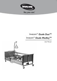 Etude Medley User Manual.pdf - Invacare UK
