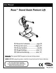 Roze™Stand Assist Patient Lift - Invacare