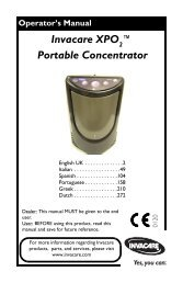 Invacare XPO ™ Portable Concentrator