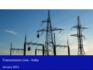 Transmission Line Market in India 2011 - Sample - SME Toolkit India