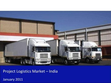 Project Logistics Market in India 2011 - Sample - SME Toolkit India