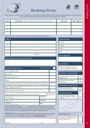 Booking Form - Ffestiniog Travel