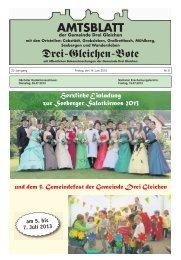 Hochladen - Gemeinde Drei Gleichen - Gemeinde-drei-gleichen.de