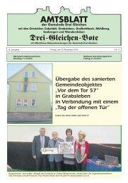 AMTSBLATT - Gemeinde Drei Gleichen