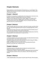 Chapter Abstracts - Jeffnicholson.net