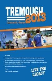 tremough 2013 programme