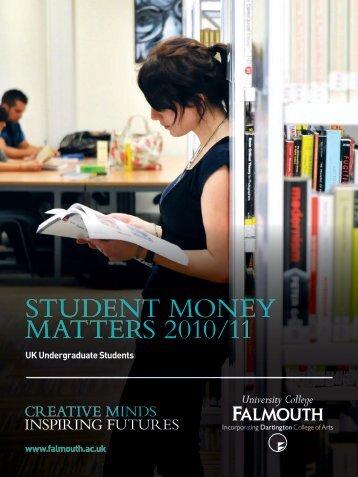 student money matte s 2010/11 - FXU Students Union